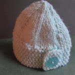 Baby button hat 2