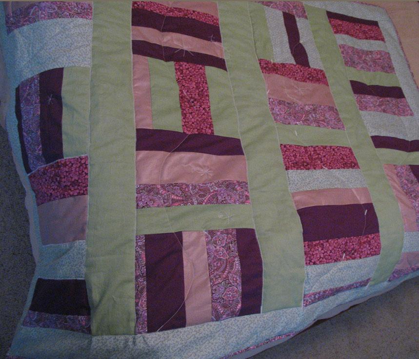 My first quilt 1