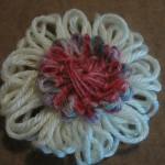 Yarn flower 1