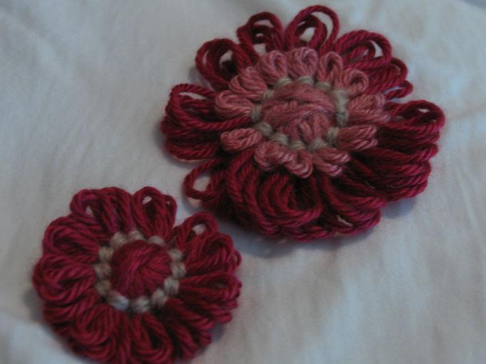 Yarn flower 2