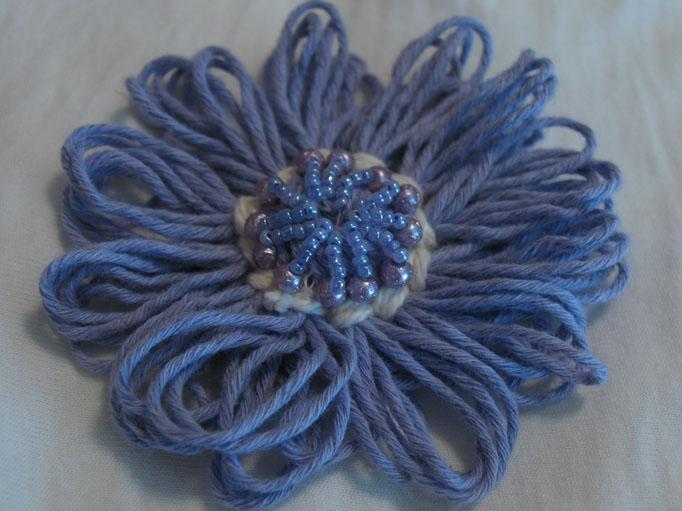Yarn flower 3